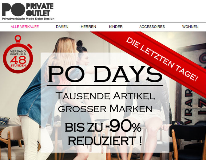 shopping-club private outlet