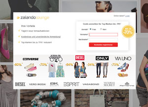 Shopping Club zalando-lounge.de